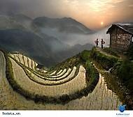 Hà Giang vẻ đẹp say đắm mùa nước đổ