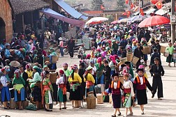 Hà Giang: Chính Thức Khai Mạc Lễ Hội Chợ Tình Khâu Vai 2015