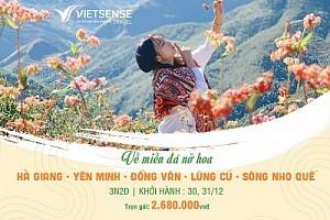 Tour Hà Nội - Hà Giang - Đồng Văn - Lũng Cú - Sông Nho Quế - MỚI NHẤT ĐANG KHUYẾN MẠI