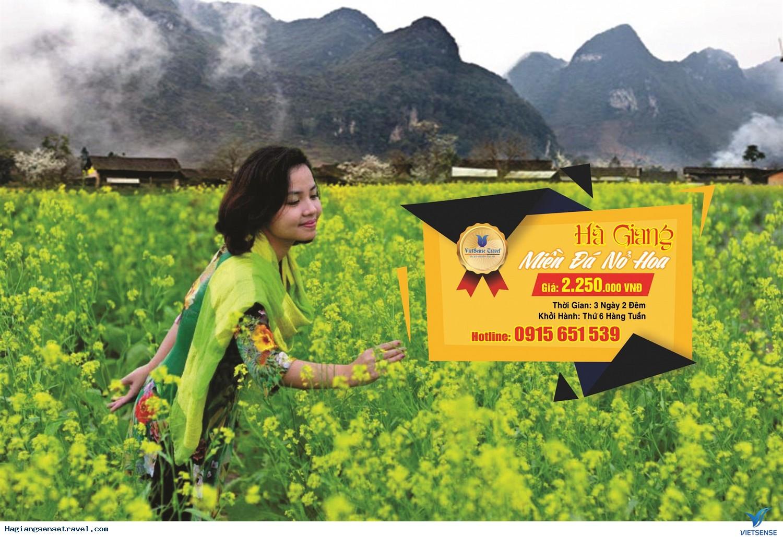 Tour Du Lịch Hà Giang - Đồng Văn Ghép Đoàn Homestay - 3 Ngày 2 Đêm